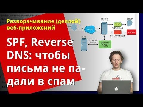 Антиспам для программиста: настройка Reverse DNS и SPF