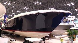 2015 Chris-Craft Launch 36 Heritage Edition Motor Yacht - Walkaround - 2015 New York Boat Show