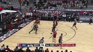 Highlights: Jordan Bachynski (10 points) in NBA D-League All-Star Game