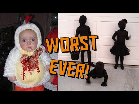 Worst Halloween Costumes for Kids