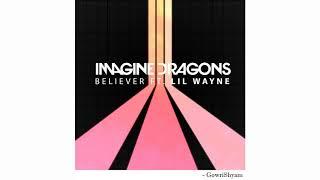 Imagine Dragons - Believer Feat. Lil Wayne (8D Audio) Video