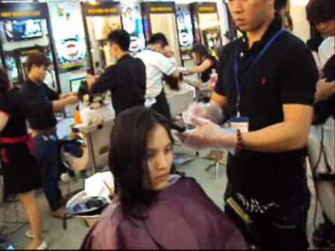 Tiệm cắt tóc đẹp | học viện tóc thực hành  | thẩm mỹ bình dương