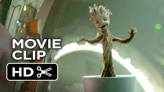 Guardians of the Galaxy Movie CLIP - Dancing Baby Groot (2014) - Vin Diesel Movie HD