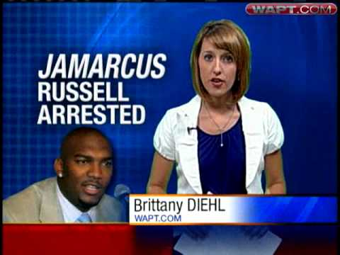 JaMarcus Russell Arrested