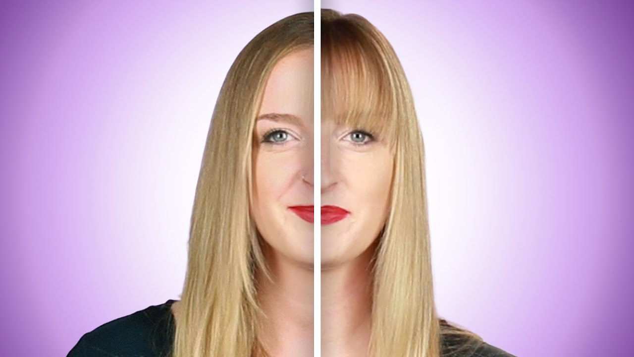 Women Transform Their Looks With Bangs Youtube