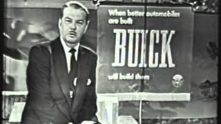 VINTAGE BUICK USED CAR DEALER 1953 AIRING
