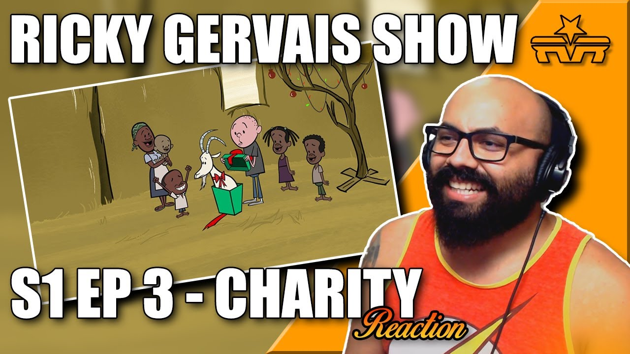 The Ricky Gervais Show Series 1 Episode 3: Charity |REACTION|