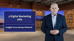 Five Digital Marketing KPIs