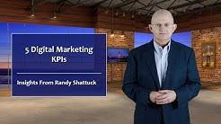 Five Digital Marketing KPIs