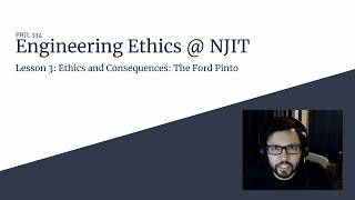 Lesson 3 - Ethics and Consequences