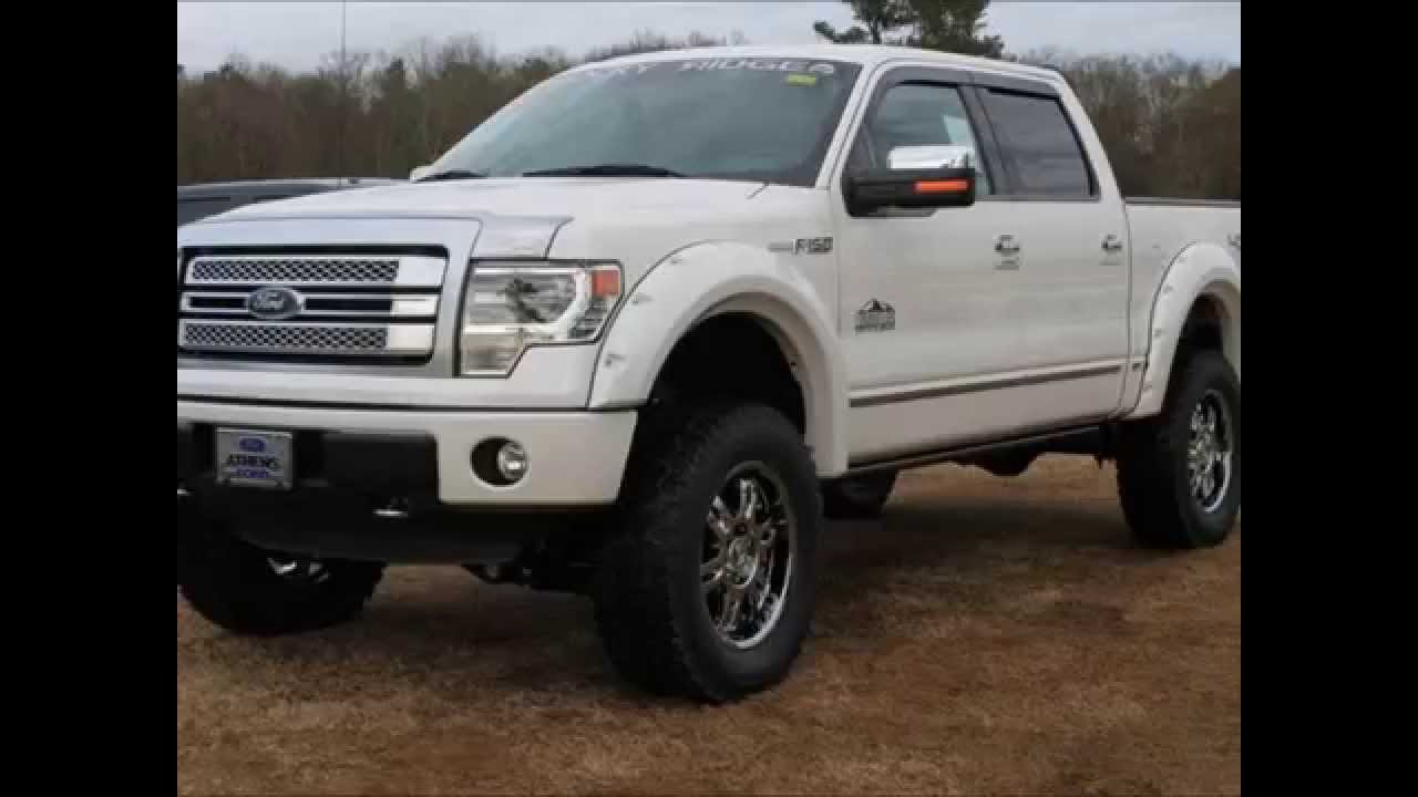 2013 Ford F 150 Platinum Rocky Ridge Altitude Lifted Truck