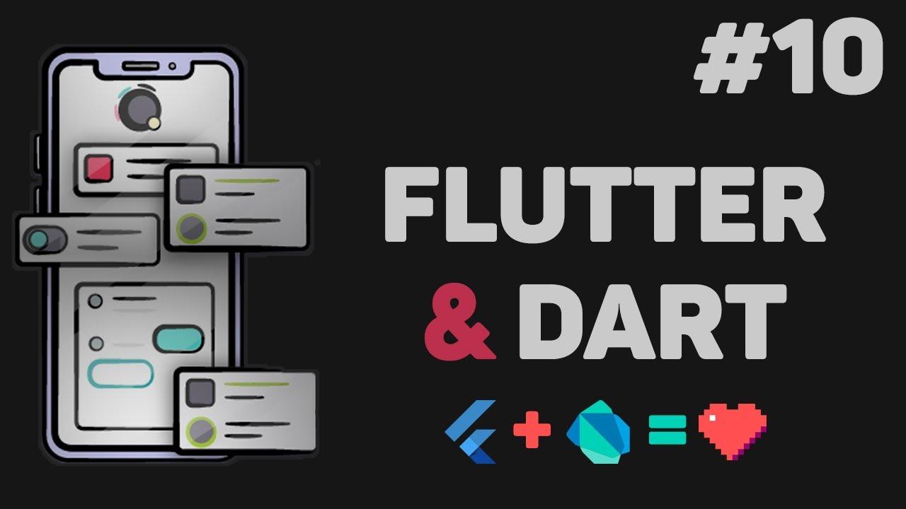 Уроки Flutter и Dart с нуля / #10 – Подключение базы данных Firebase
