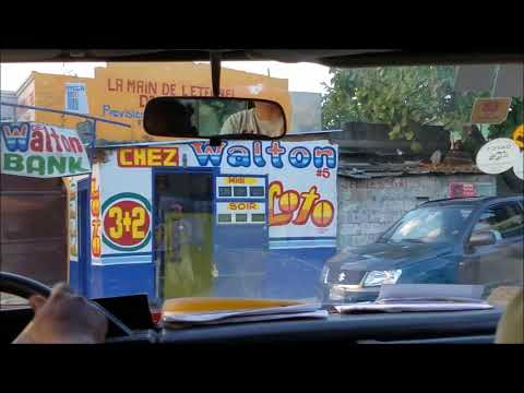 Haiti Project Video Part I   Driving Through Port au Prince