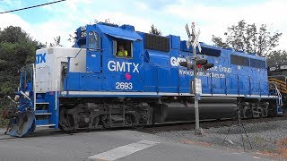 GMTX GP38-2 With A Nathan Airchime P3 Horn On W&W RR