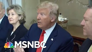 President Donald Trump Pushes His Own Brand Of Global Politics At NATO | Velshi & Ruhle | MSNBC