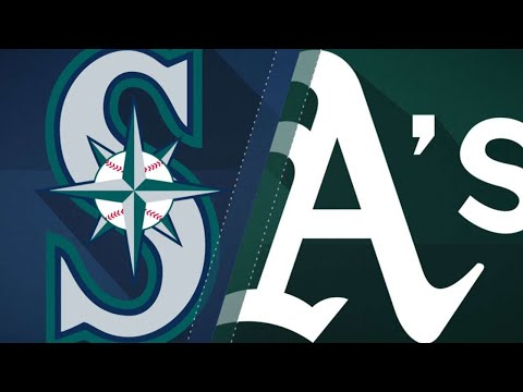 LeBlanc, 5-run 1st key Mariners' 7-1 win: 8/30/18