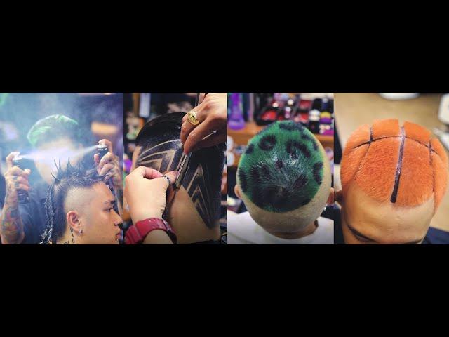 Amazing HipHop Hairstyle x Skilled VietNamese Barbers | Barbershop Vũ Trí
