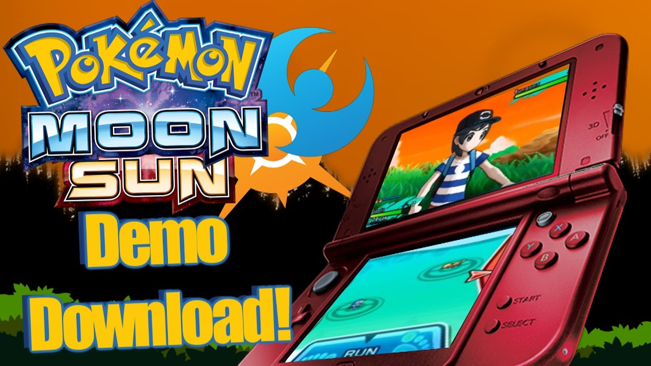 How To Download Pokemon Sun And Moon Demo Youtube