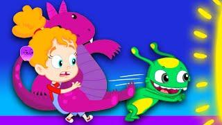 NEW Groovy The Martian win a DINOSAUR toy at the fair Full episode Cartoon for kids & Nursery Rhyme