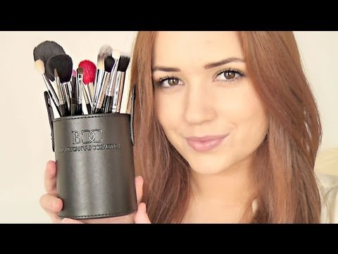 Makeup Brushes Complete Guide To Blankcanvascosmetics Pro Set