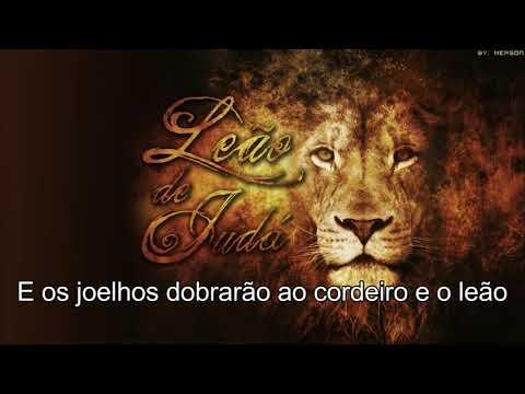 O cordeiro e o Leão   Marcus Salles - the king and the lamb