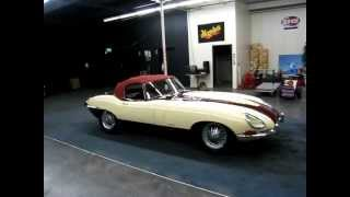 1964 Jaguar E-Type Bouillot Helsel Roadster