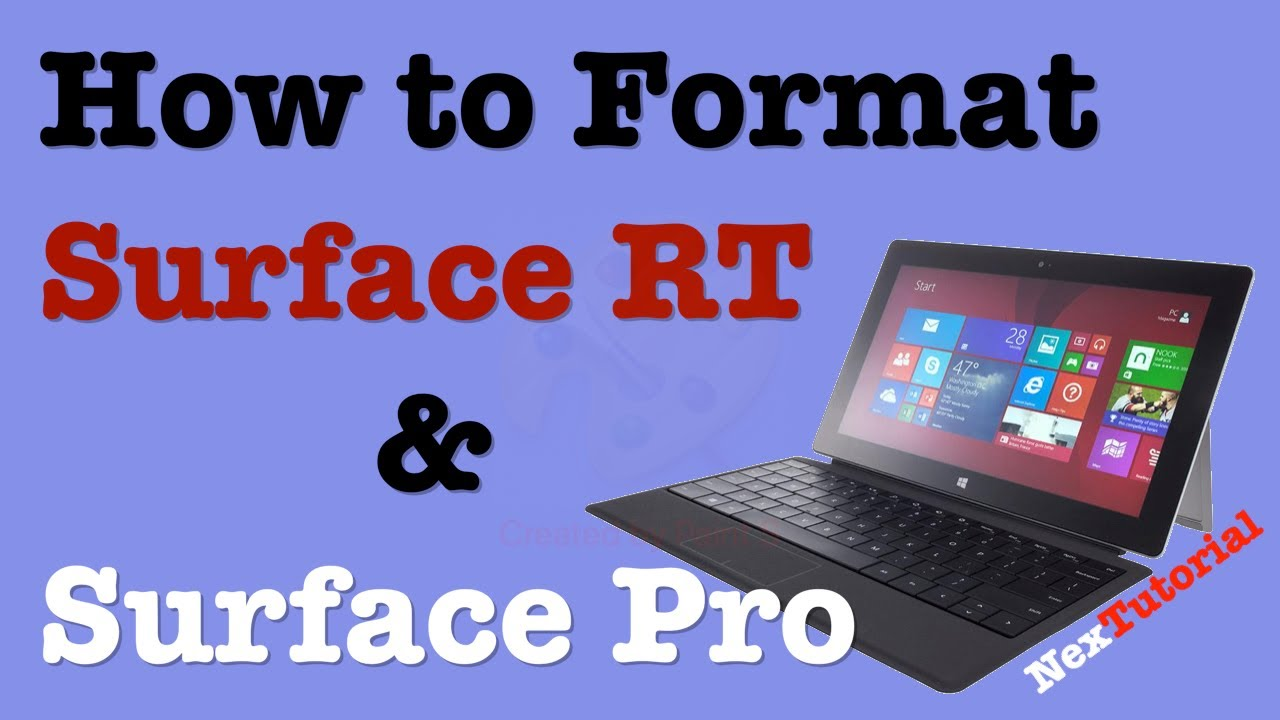 how to restore surface pro