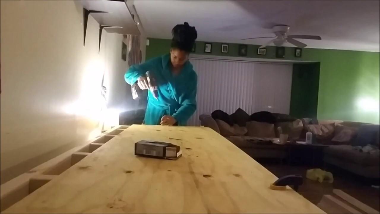 Diy Craft Workbench Youtube