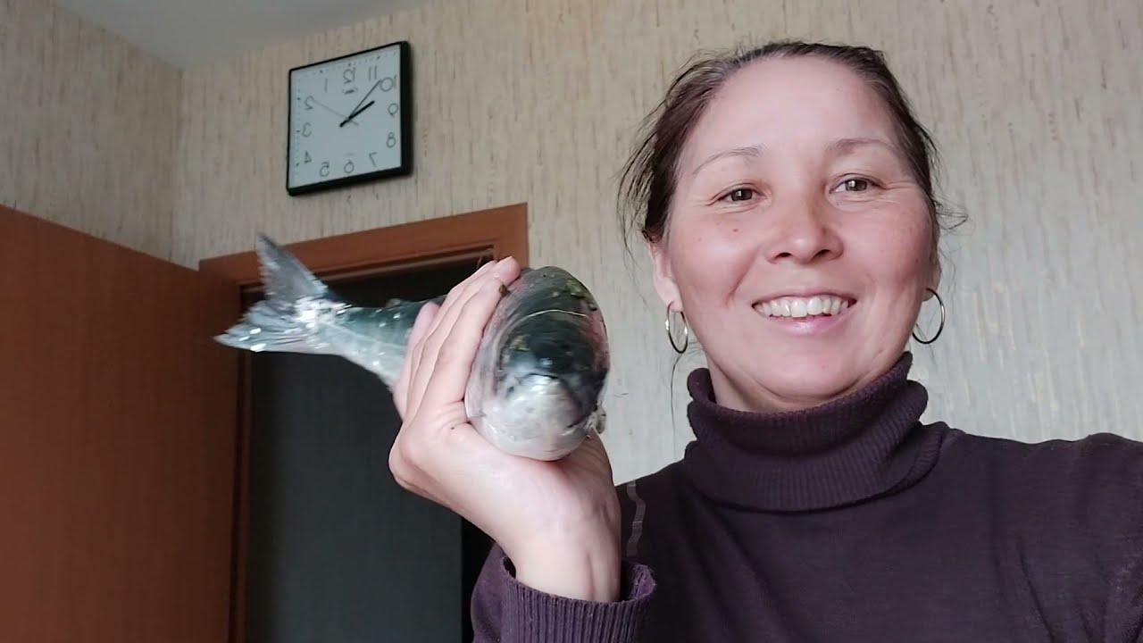 Поймала и сварила .. Сима - рыба семейства лососёвых .