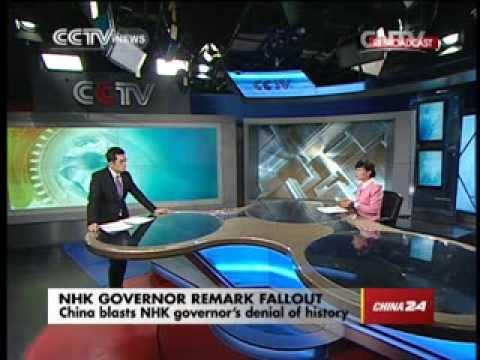 Studio interview: Shinzo Abe's interference blurs picture at NHK broadcaster