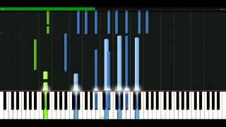 Queen - Mother love [Piano Tutorial] Synthesia | passkeypiano