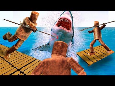 игра рафт акула скачать - фото 3