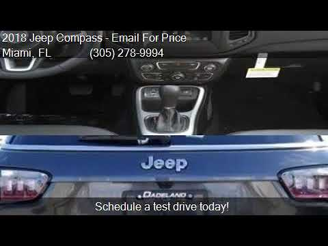 Elegant 2018 Jeep Compass Latitude 4dr SUV For Sale In Miami, FL 331. Dadeland  Dodge Chrysler ...
