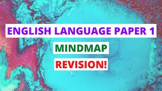 English Language Paper 1 Walkthrough: Mind Map On How To Answer Questions! | GCSE Mocks Revision!