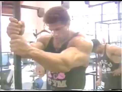 Lou Ferrigno Hulk Training