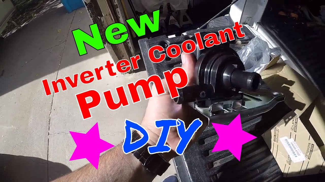 Diy How To Change Prius Inverter Coolant Pump On My Gen1 2003 Toyota