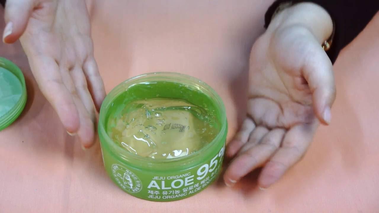 Гель Алоэ вера для кожи лица, ногтей и волос - YouTube