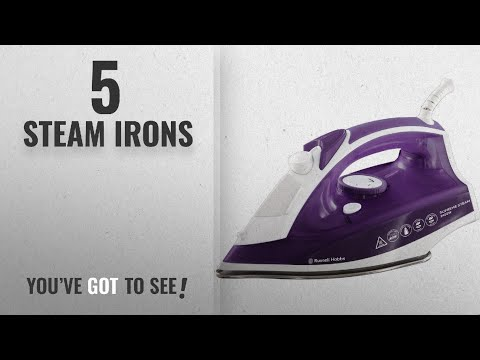 Top 10 Steam Irons [2018]: Russell Hobbs Supreme Steam Traditional Iron 23060, 2400 W -