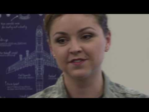 Airman Feature - Captain Anisha Olenchak - Intel