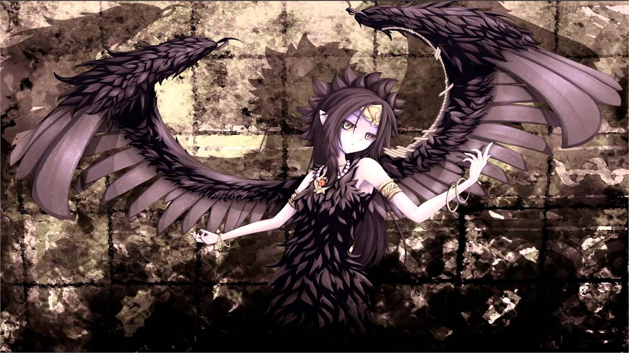 Demon Girl Wallpaper Nightcore Angel In Disguise Hd Youtube