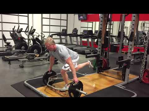 Reeves Trap Bar Single Leg Deadlift