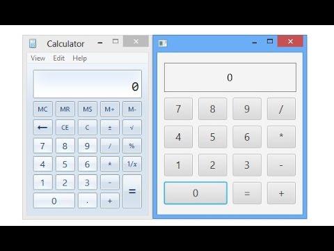 JavaFX Software Tutorial: Calculator (MVC)
