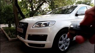 замена батарейки в ключе АУДИ Q7 2008  AUDI Q7  3,0  дизель