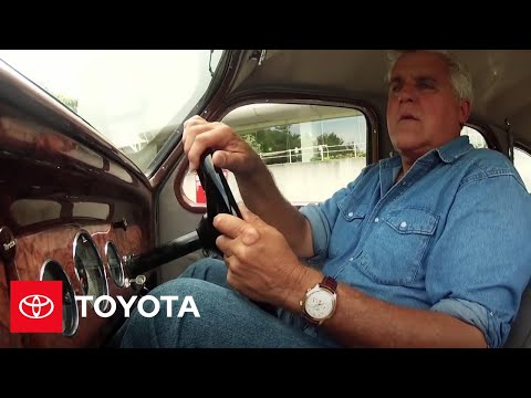 Jay Leno Drives the First Car Toyoda (Toyota) Ever Produced   Toyota