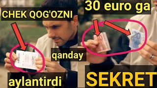 THE BEST MONEY MAGIC TRICK EXPLAINED, PUL BILAN G'AROYIB FOKUS SIRI, ЛУЧШИЕ ФОКУСЫ С ДЕНЬГАМИ ОБЗОР