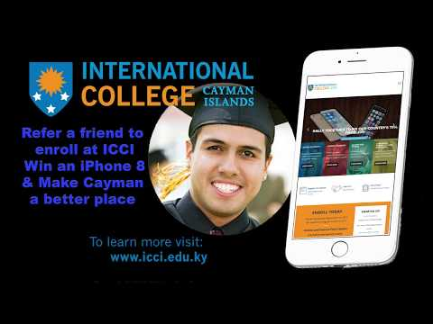 International College of the Cayman Islands iPhone Challenge