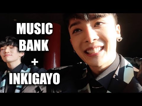 MUSIC BANK AND INKIGAYO FANMEETING VLOG! BLK