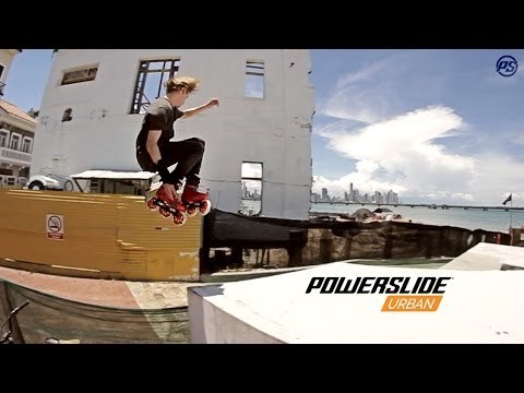 The Panamanian way - Sam Crofts on Powerslide Imperial Pro inline skates in Panama