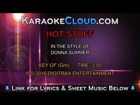 Donna Summer - Hot Stuff (Backing Track)