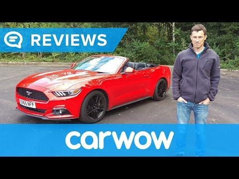Ford Mustang Convertible 2017 review | Mat Watson Reviews